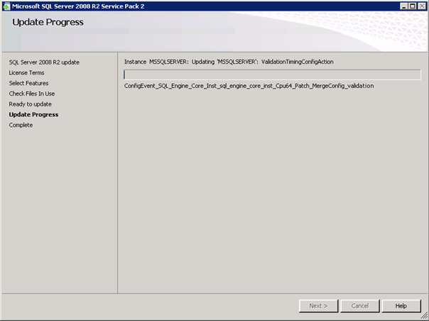 Perform a Rolling Upgrade to SQL Server 2008 R2 SP2 in a