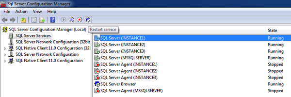Restarting SQL Server – always a good idea? |