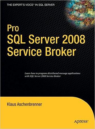 My unsuccessful book on Service Broker