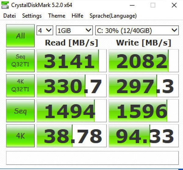 The Samsung 960 M.2 SSD is just *awesome* FAST!