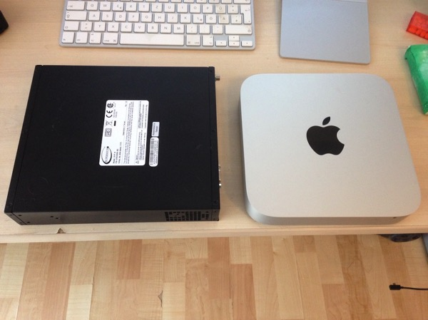 Outdated Apple hardware vs. the SYS-E200-8D server