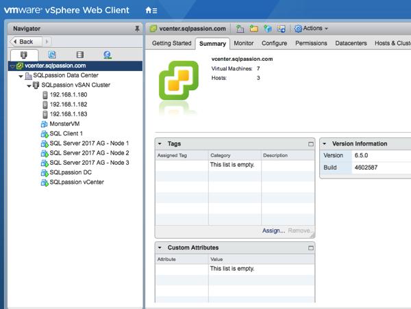 My brand-new VMware vSphere Home Lab!