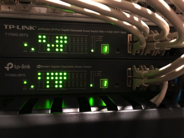 The 2 TP Link Switches