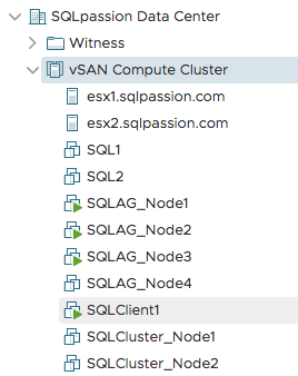 The ESXi host is removed from the vSAN Cluster