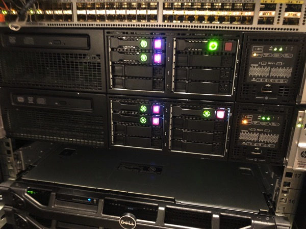 The ESXi Host is physically removed from the Server Rack