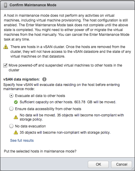 Replacing an ESXi Host in a vSAN Cluster |