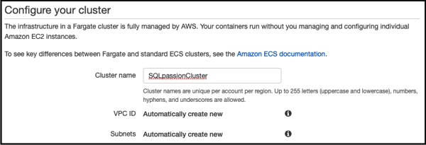 Editing the Cluster Definition