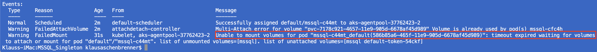 We have sucessfully crashed our Kubernetes Pod