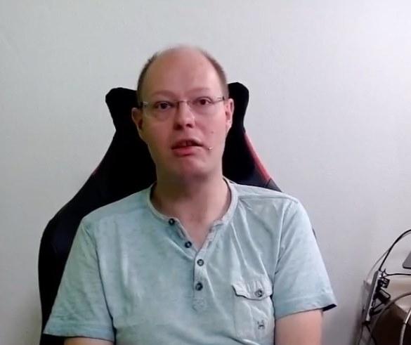 A traditional webcam